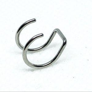Jewelry - Ear cuff/fake lip ring 4/$13